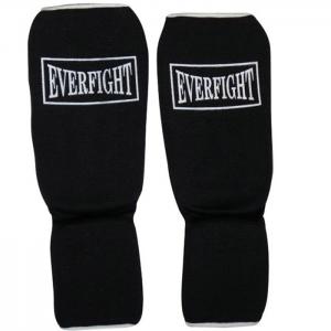 Ochraniacz elastyczny goleń-stopa Everfight czarny