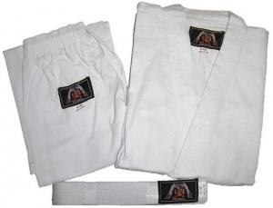 Karategi Panthera biała 8oz 110-200cm