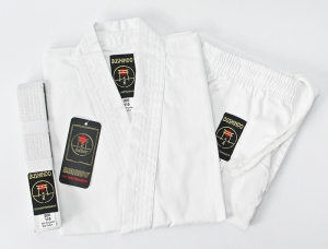 Karategi BUSHINDO 110-170cm białe + pas