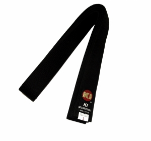 Czarny Pas KI High Quality Black Belt 1 3/4