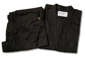 Karategi Bushi czarne 10oz 120-200cm