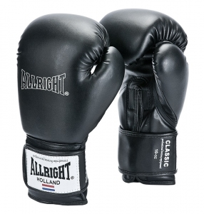 Rękawice bokserskie ALLRIGHT CLASSIC czarne