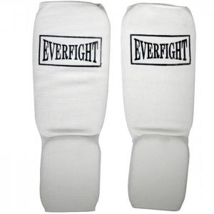 Ochraniacz elastyczny goleń-stopa Everfight biały
