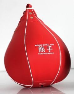 Gruszka podwieszana  PVC czerwona
