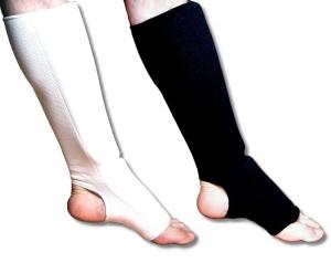 Ochraniacz elastyczny goleń ze stopą